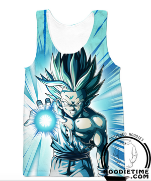 gohan tank top dragon ball z gym shirt