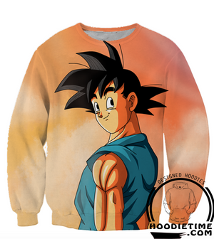 Dragon Ball GT Z - Goku Goodbye my Friends Hoodie - 3D Pullover Hoodie-Hoodie Time - Anime and Gaming Hoodies