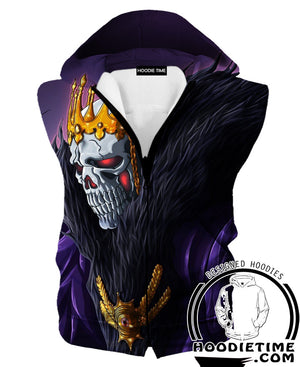 Bleach Hoodie - Barragan Soul King Hoodie - Bleach Apparel-Hoodie Time - Anime and Gaming Hoodies