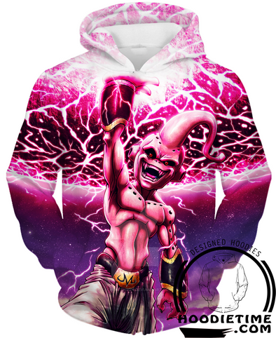 Kid Buu Hoodie dragon ball z hoodies super clothes boo