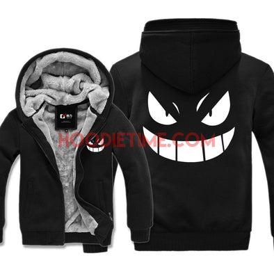 Gengar Pokemon Go Grimace zip-up hoodie cool awesome