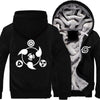 Naruto (Many Designs) Fleece Jacket Hoodie Glow in the Dark - Black, Blue, Red Nine-Tails, Sasuke-Hoodie Time - Anime and Gaming Hoodies