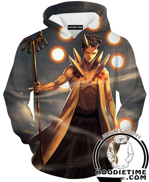 10 Tails Obito Hoodie - Naruto Clothing-Hoodie Time - Anime and Gaming Hoodies