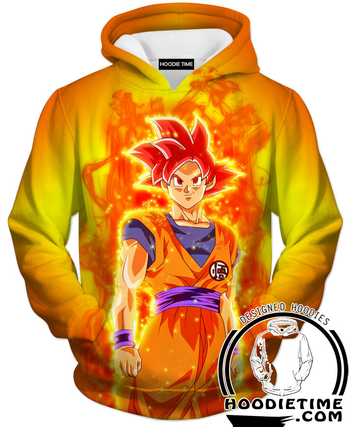Goku God Hoodie Clothing Clothes