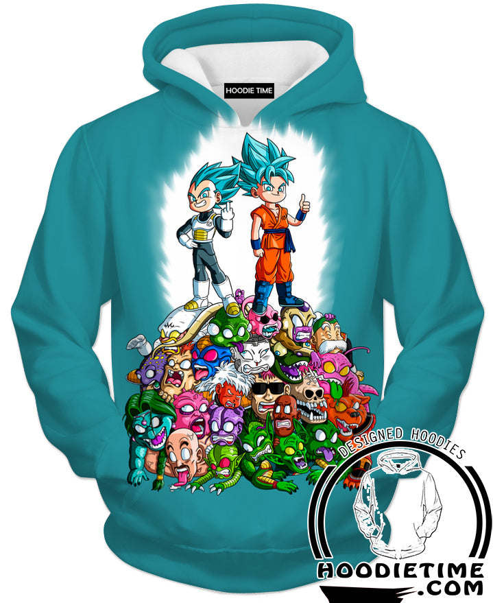 dragon ball jumpers