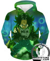 Android 17 Barrier Hoodie - Dragon Ball Super Hoodies Clothing-Hoodie Time - Anime and Gaming Hoodies