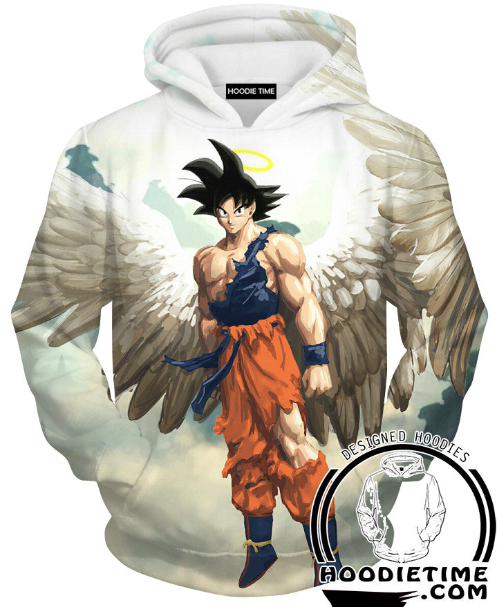 Angel Goku Hoodie Hoodies Artwork deviantart