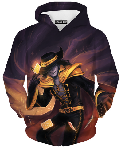 twisted fate league of legends hoodie hoodies clothing clothes