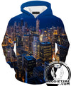 Chicago View Hoodie - Chicago City Clothing-Hoodie Time - Anime and Gaming Hoodies