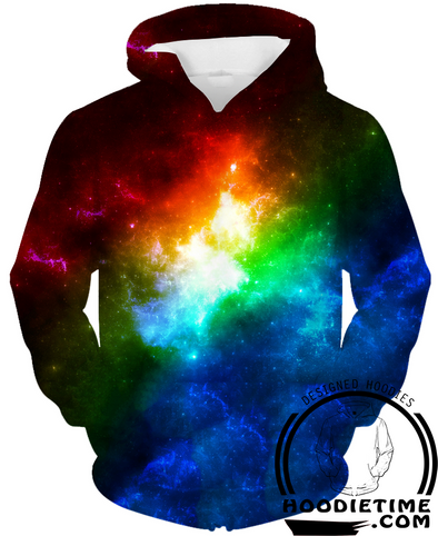 Colorful space galaxy 3d hoodie hoodies awesome cool