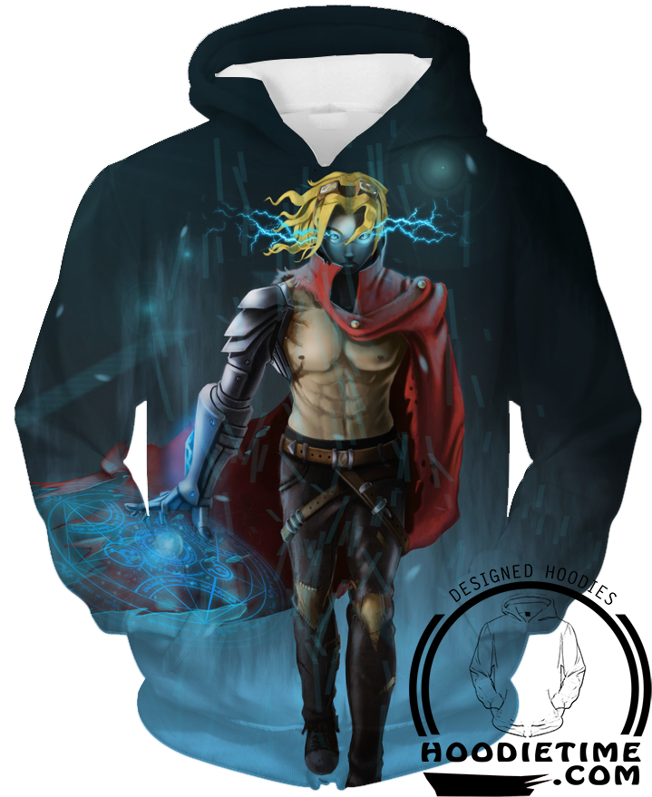Pulsefire pulse fire ezreal hoodie clothing league of legends