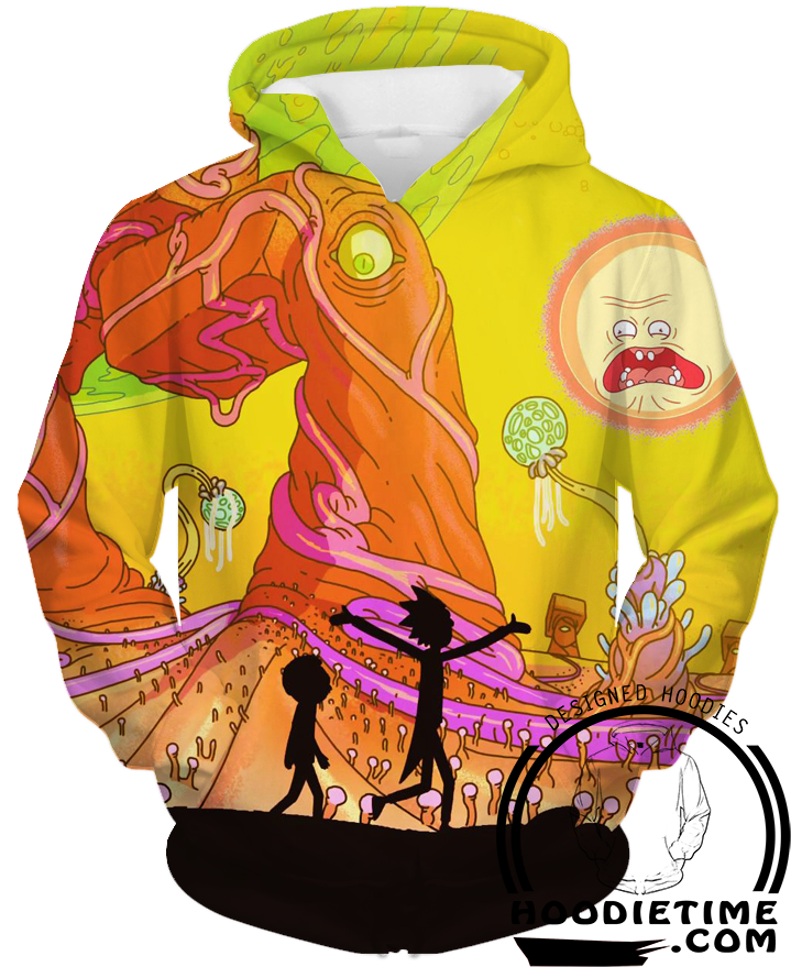 rick and morty adventure hoodie season 3