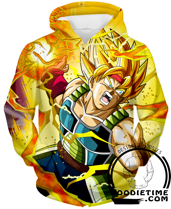 Super Saiyan Bardock Hoodie dragon ball z hoodies dbz