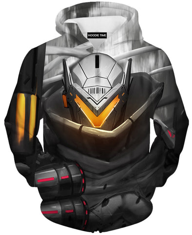 League Of Legends Project Lucian Hoodie - 3D Pullover Clothing - LoL Hoodies-Hoodie Time - Anime and Gaming Hoodies