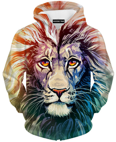 Beautiful Lion Hoodie clothing clothes