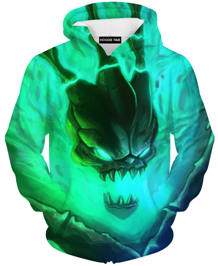 Thresh head hoodie league of legends clothing clothes