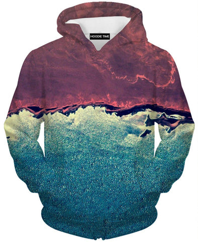 Marshmellow hoodie red and blue hoodies