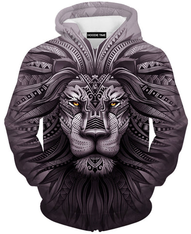 Lion Zion Hoodie - 3D Pullover Hoodies and Clothing-Hoodie Time - Anime and Gaming Hoodies
