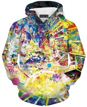 Color of Hong Kong Hoodie - 3D Pullover Hoodies and Clothing-Hoodie Time - Anime and Gaming Hoodies