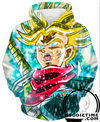 Dragon Ball Super Z - Super Saiyan God Legendary Trunks Hoodie - Pullover 3D Hoodie-Hoodie Time - Anime and Gaming Hoodies