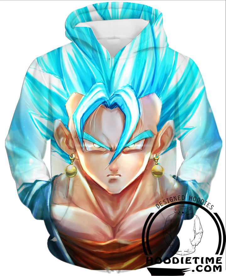Vegito Blue Pullhover 3d hoodie dragon ball z hoodies