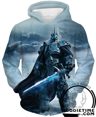 Lich King Hoodie Warcraft hoodies clothing