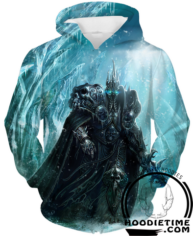 Lich king hoodie warcraft clothing arthas hoodies