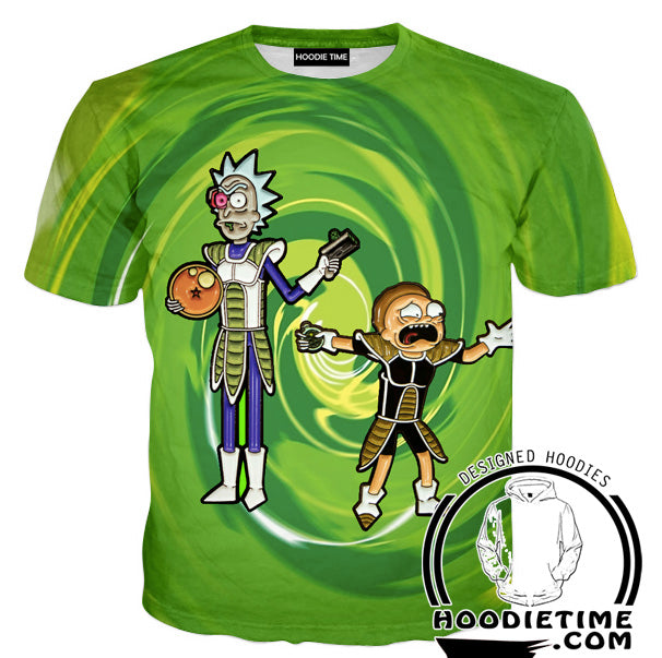 Rick and morty dragon ball clothing