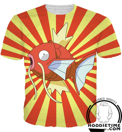 Pokemon - Magikarp T-Shirt - 3D Shirt-Hoodie Time - Anime and Gaming Hoodies