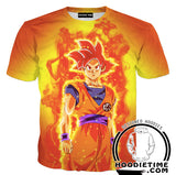 Goku God T-Shirt Clothing Clothes