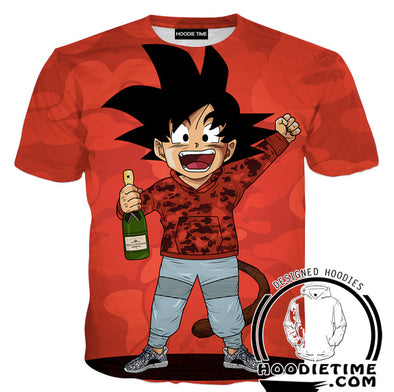 Dragon Ball Z Bape T-Shirt