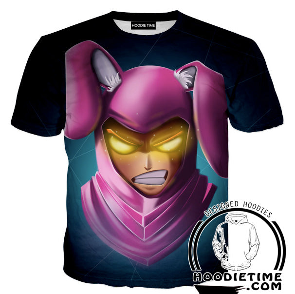 Fortnite Bunny Skin T-Shirt - Fortnite Shirts Clothing-Hoodie Time - Anime and Gaming Hoodies