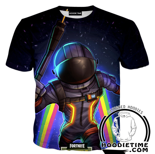 Fortnite Astronaut T-Shirt - Battle Royale Shirts Gaming Clothing-Hoodie Time - Anime and Gaming Hoodies