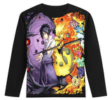 naruto with tailed beast and obito sweatshirt