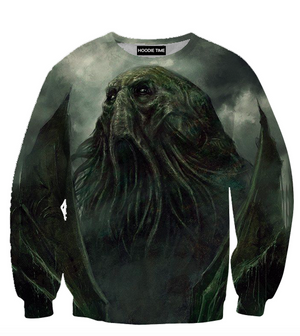 Cthulhu T-Shirt - Fantasy Style 3D Clothing-Hoodie Time - Anime and Gaming Hoodies