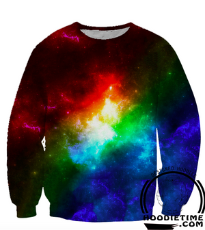 Colorful Galaxy Shirt - Printed T-Shirts Clothing - Galaxy Clothing-Hoodie Time - Anime and Gaming Hoodies