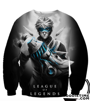 ezreal league of legends sweatshirt lol