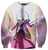 Dragon Ball Z Super Tank Tops - Angel Whis Gym Shirt - DBZ Full Printed Clothing-Hoodie Time - Anime and Gaming Hoodies