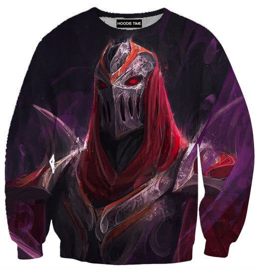 Zed hoodie league of legends clothing clothes