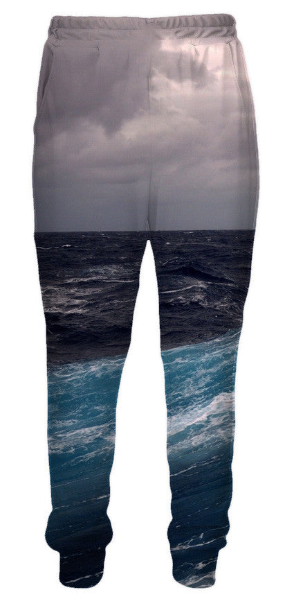 Ocean Storm Sweatpants - 3D Pants and Clothing-Hoodie Time - Anime and Gaming Hoodies