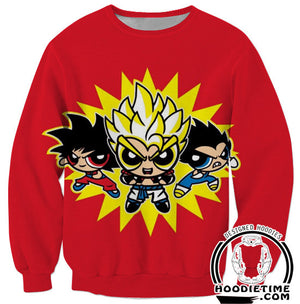 Gogeta Powerpuff girls dbz dragon ball z