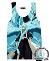 Blue Dragon Bleach Hoodie - Bleach Clothes-Hoodie Time - Anime and Gaming Hoodies