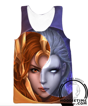 diana leona tank top gym shirt lol