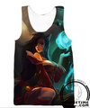 ahri charm tank-top gym shirt league of legends shirts