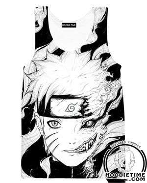 Naruto Tank Top Gym Shirt