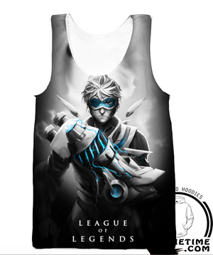 ezreal league of legends gym tank top shirt lol