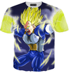 vegeta hoodie dragon ball z t-shirt cool final flash