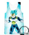 Dragon Ball Super Z - Super Saiyan Blue Vegeta Hoodie SSB - Pullover 3D Clothing-Hoodie Time - Anime and Gaming Hoodies
