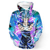 Dragon Ball Super Z - Blue Vegito Hoodie - Vegetto - Pullover 3D Hoodie-Hoodie Time - Anime and Gaming Hoodies