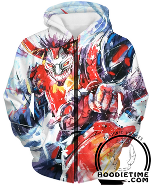 blood moon zip-up hoodie clothes clothing league of legends lol wow hoodie